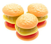 Gelées de burger — Photo