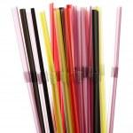 Plastic straws — Stock Photo #10190213