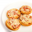 Mini pizza — Stock Photo