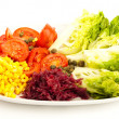 Mediterranean salad — Stock Photo #10192566