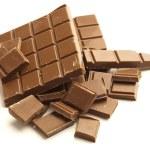 Chocolate pieces — Stock Photo #10194307