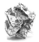 Alüminyum kağıt topu — Stok fotoğraf