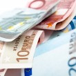 Royalty-Free Stock Photo: Euro note closeup