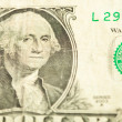 One dollar closeup — Stock Photo #10386756