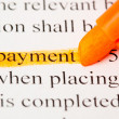 Payment def — Stock Photo #10386813
