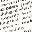 Succes word - 