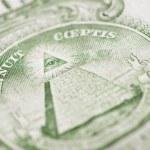 Dollar detail — Stock Photo