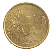 Euro cents — Stock Photo