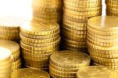 Euro cent kazık — Stok fotoğraf