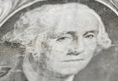Dollar-detail — Stockfoto