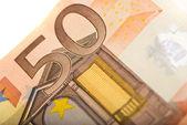 Note 50 euro — Stock Photo