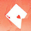 Playing cards — 图库照片
