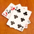 Poker cards - Stock Photo