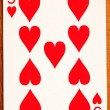 Poker card - Stock Photo
