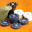 Poker chips — Stock Photo #10390968
