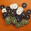 Poker chips — Stock Photo #10390993