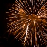 Fireworks at night — Stock Photo #10391062