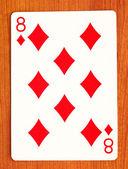 Poker card — Stock Photo
