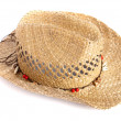 Stock Photo: Straw hat
