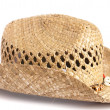 Straw hat isolated — Stock Photo #10425613