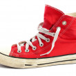 Vintage red shoe — Stock Photo #10425717