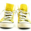 vintage sneakers — Stock Photo