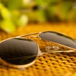 Vintage sunglasses — Stock Photo