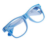 Blue glasses — Stock Photo