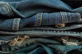 Closeup de jeans — Foto Stock
