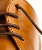 Leather shoe — Stock Photo
