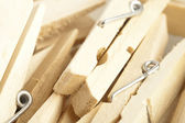 Wooden clothes pin — Stock Photo