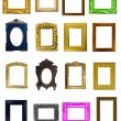 Frames collection — Stockfoto