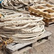 Rope harbor — Stock Photo