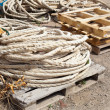 Rope harbor - Stock Photo
