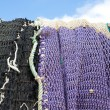Stock Photo: Harbor nets