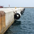 Stock Photo: Port mooring