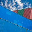 Ship container - Stock Photo