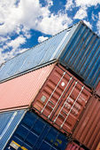 Ship container — Stock Photo