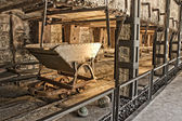 Viejo vagon de carbon — Stock Photo