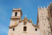 Saint Andrews Church (Saint Andreus Church) in Peniscola, Spain — Stock Photo