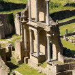 Roman Theatre of Volterra, Italy — Stock Photo