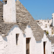 Trulli houses in Alberobello — Stock Photo