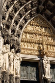 Cologne Cathedral detail — Stock Photo
