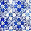 Old ceramic tiles, azulejos - Stock Photo