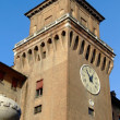 Ferrara Ducal Palace - Stock Photo