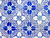 Old ceramic tiles, azulejos — Stock Photo