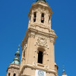 图库照片: Basilica-Cathedral of Our Lady of Pillar in Zaragoza