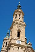 サラゴサの柱の聖母大聖堂 — ストック写真