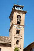 Bell tower of San Gil y Santa Ana Church — Stock Photo