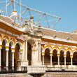 Plaza de toros de la Real Maestranza in Seville — Stock Photo #9821202